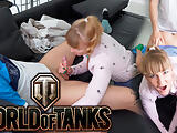 Im horny when my stepbrother plays in the World of Tanks