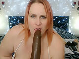 Mature Huge Boobs Booty Double Masturbation With Huge Dildo