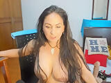 Big ass Mature Latina teasing on cam pt3