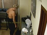 Exclusive video, beauty salon, pussy, ass, Tits