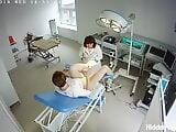 Hidden camera in the gynecological office (2)