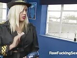 Raw Fucking Sex - Busty Parking Officer Michelle Thorne Take