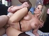 Brandi Love with doctor