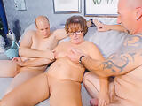 AMATEUR EURO - Horny Couple Invites A Friend For A Hot Threesome Sex