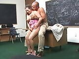 Big Tit Teacher Gets Fucked in School
